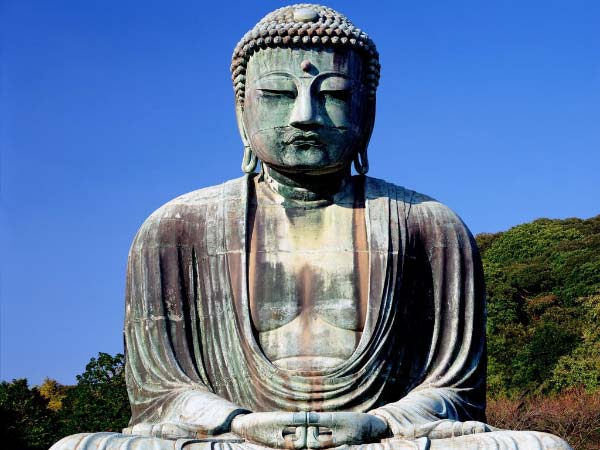 Photo of a buddha statue