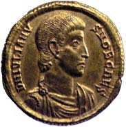 Coin with Julius Ceasar.