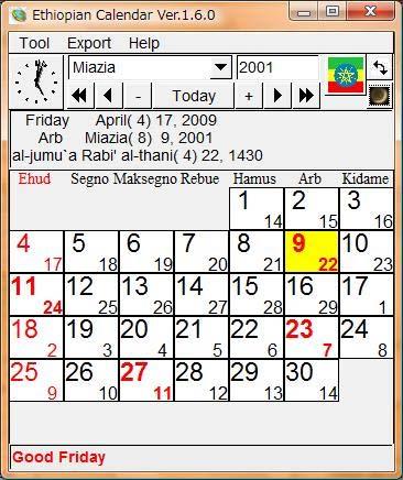 Ethiopian Calendar 2019 In Amharic The Ethiopian Calendar < Calendarworld